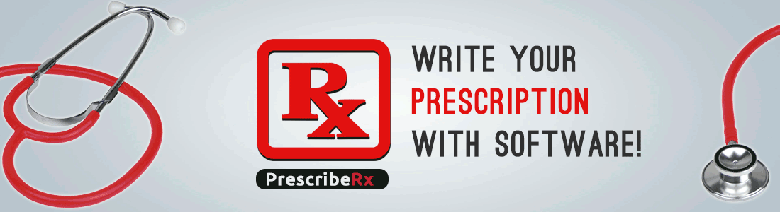 Write Your Prescription with Software