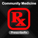 Prescription for Community Medicine. Prescription software is now available in version 2.0.1 for Community Medicine.